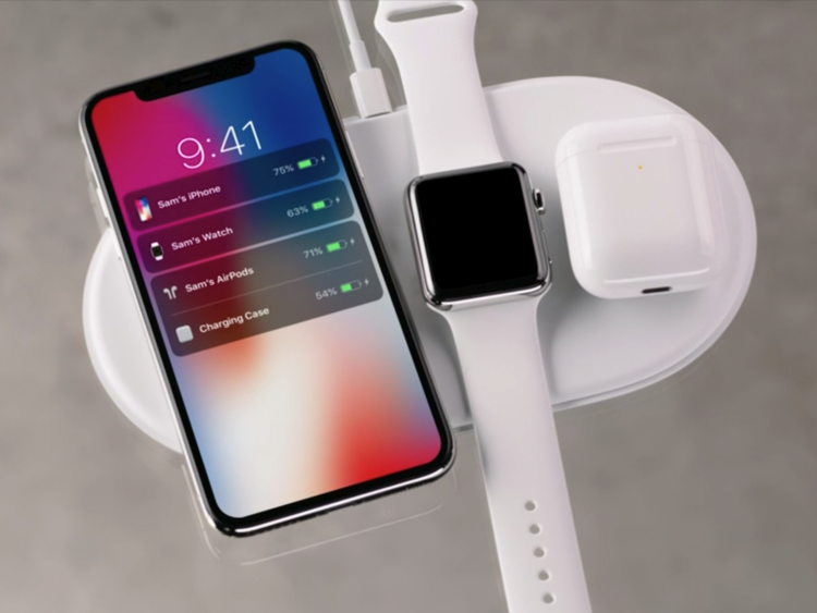 Apple Watch iPhone AirPods AirPower